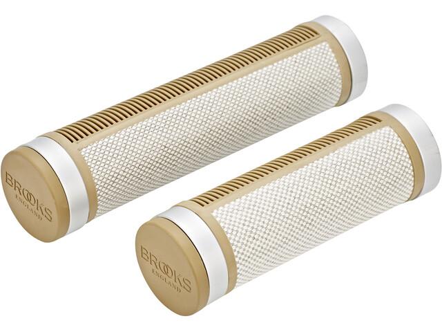Brooks Cambium Rubber Poignées court/long, natural/rubber
